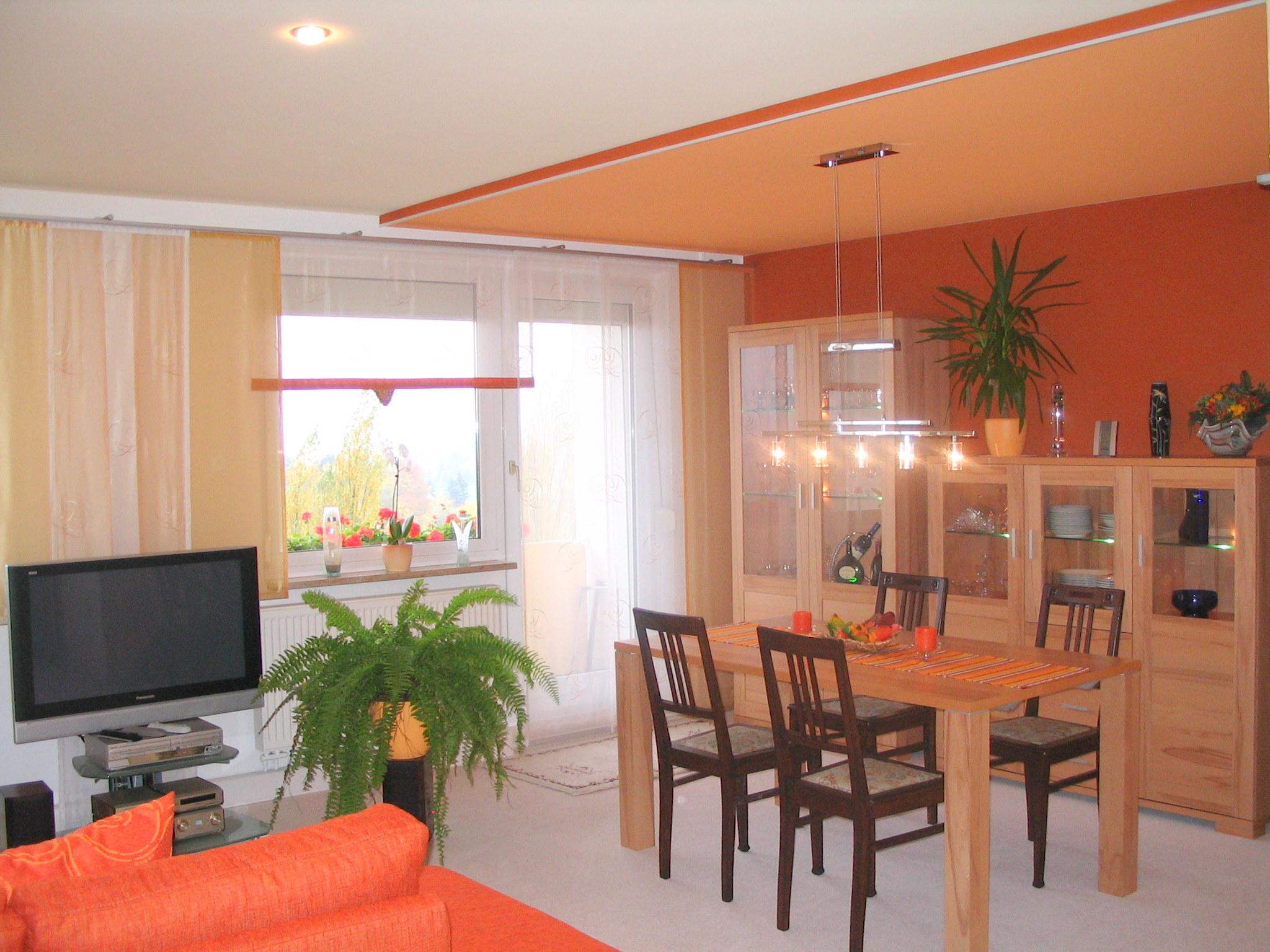 Wohnzimmer Zweifarbig Gestalten Seldeon Innen